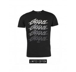 T-Shirt Stance Nera Nera -...