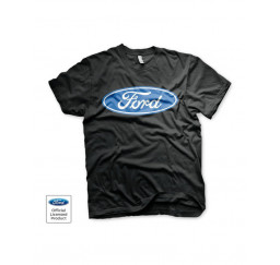 T-shirt Ford Logo Nera -...
